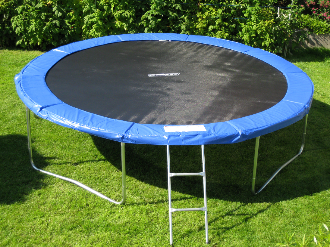 trampolin 3 05 m 3 66 m gartentrampolin bis 180kg top angebot top qualit t ebay. Black Bedroom Furniture Sets. Home Design Ideas